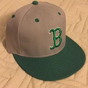 Boston Red Sox hat (Celtics colors)